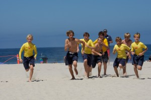 Surfing Encinitas Junior Lifeguard Program